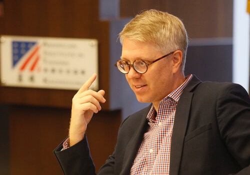 Matthew O'Connor, chief of the American Institute in Taiwan's Kaohsiung branch office(CNA)