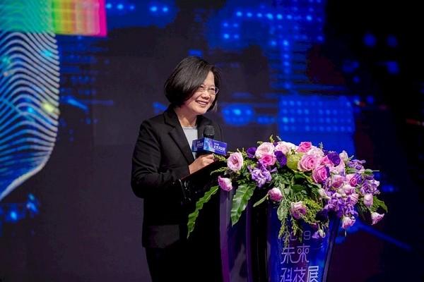 President Tsai Ing-wen at Futex Taipei 2019. (Flickr photo)