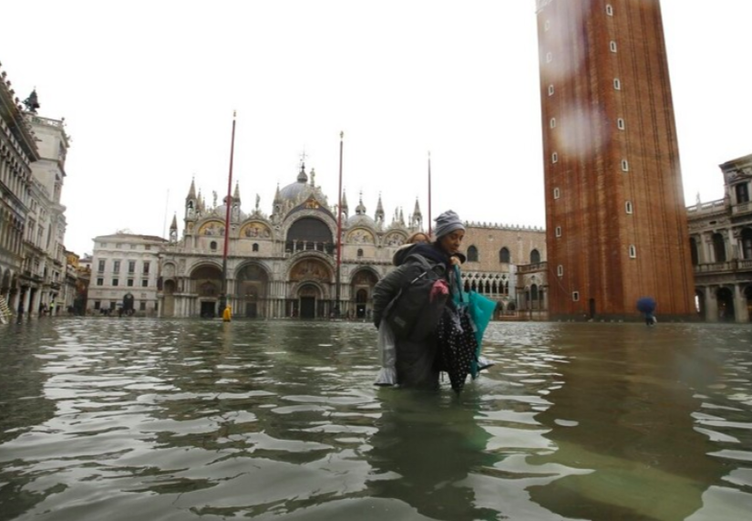 台灣捐助10萬歐元協助威尼斯災後重建(圖/AP)