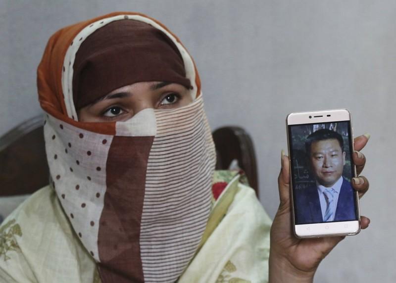 被強姦、賣至中國的巴基斯坦女孩(AP)
