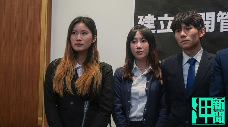 Keith Fong, the first from right (Eat News photo)