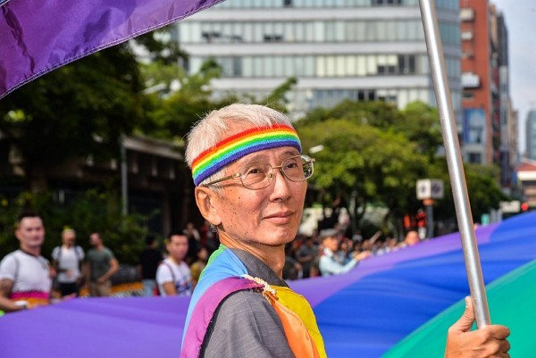 Taiwanese gay rights activist Chi Chia-wei. (Facebook photo)