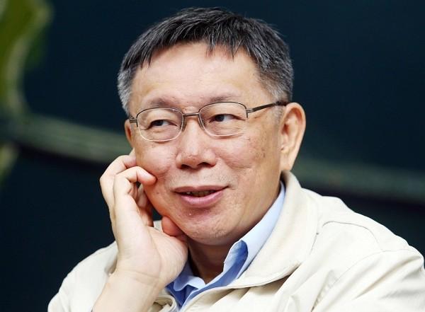 Ko Wen-je plans on running for president in 2024. (Facebook photo)