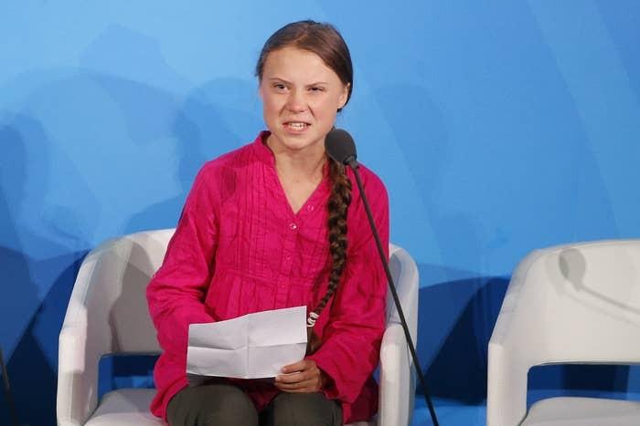 瑞典環保少女童貝里(Greta Thunberg)(美聯社圖片)