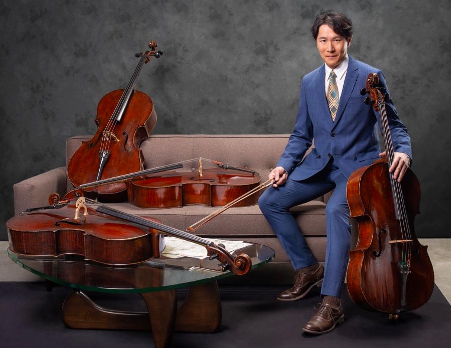 大提琴家郭虔哲將於北美館舉辦大型演奏會(圖/郭虔哲的世界音樂臉書)