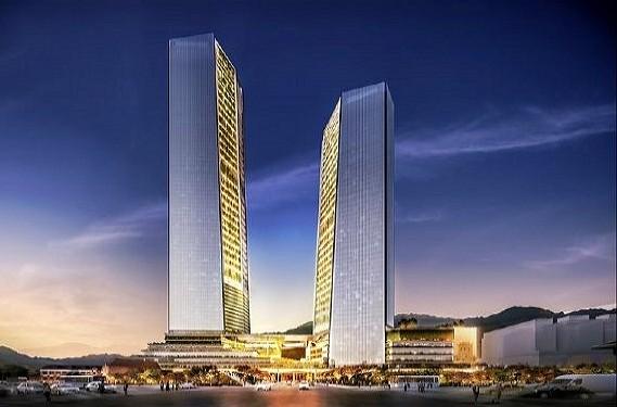 Taipei Twin Towers will be located near Taipei Railway Station.