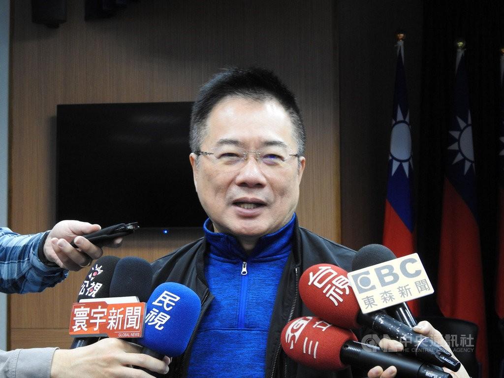 KMT Deputy Secretary General Alex Tsai.
