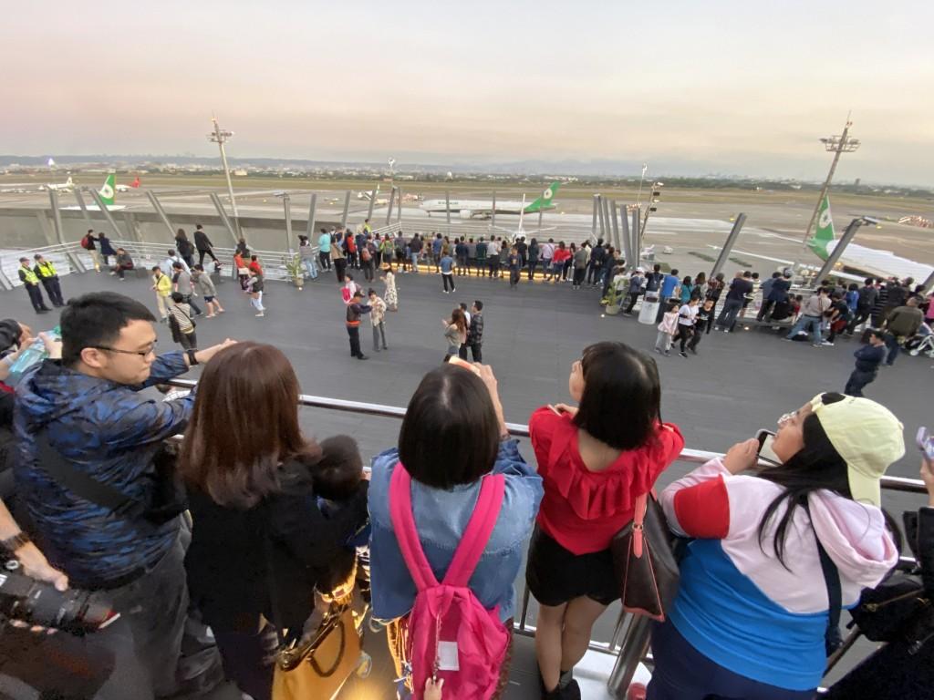Taoyuan's airport observation deck will close Dec. 25-27.
