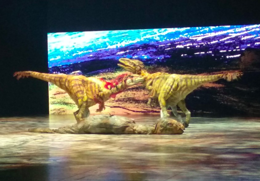 "BBC's ""Walking With Dinosaurs"" kicks off at Taipei Arena"