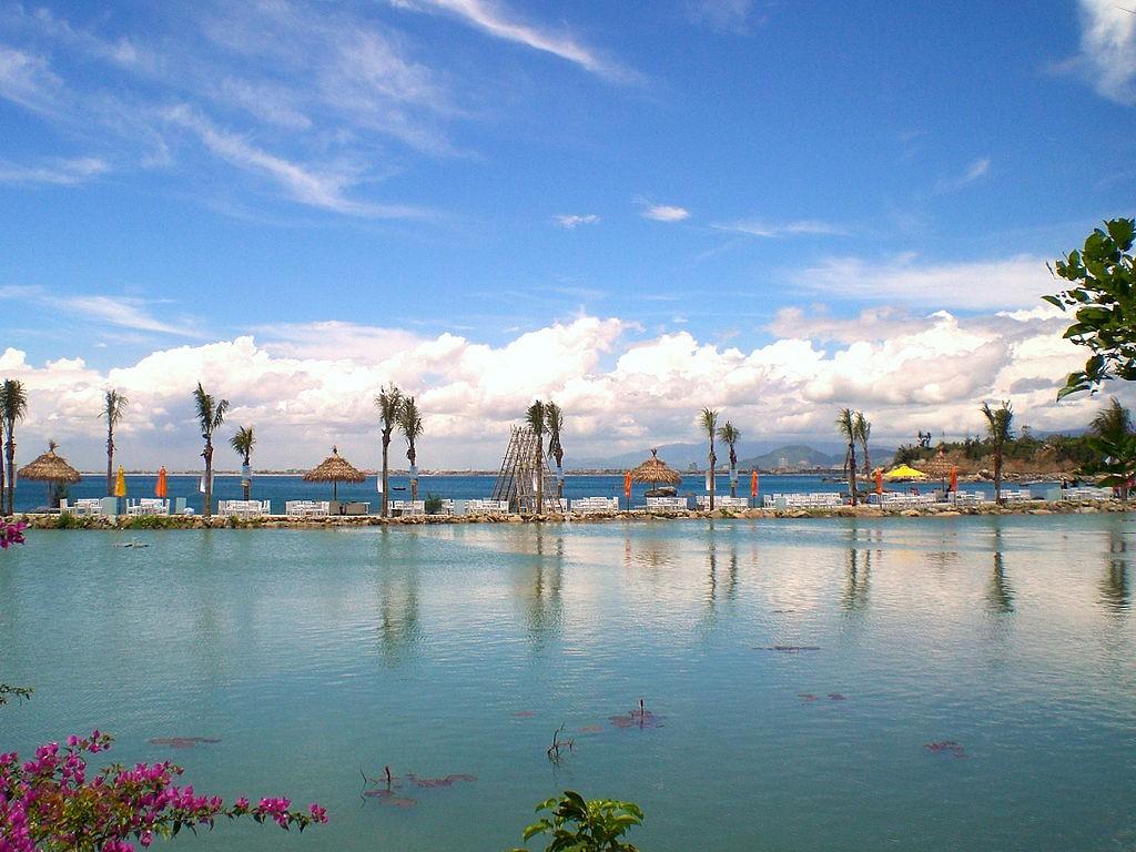 Beach resort in Da Nang, Vietnam.