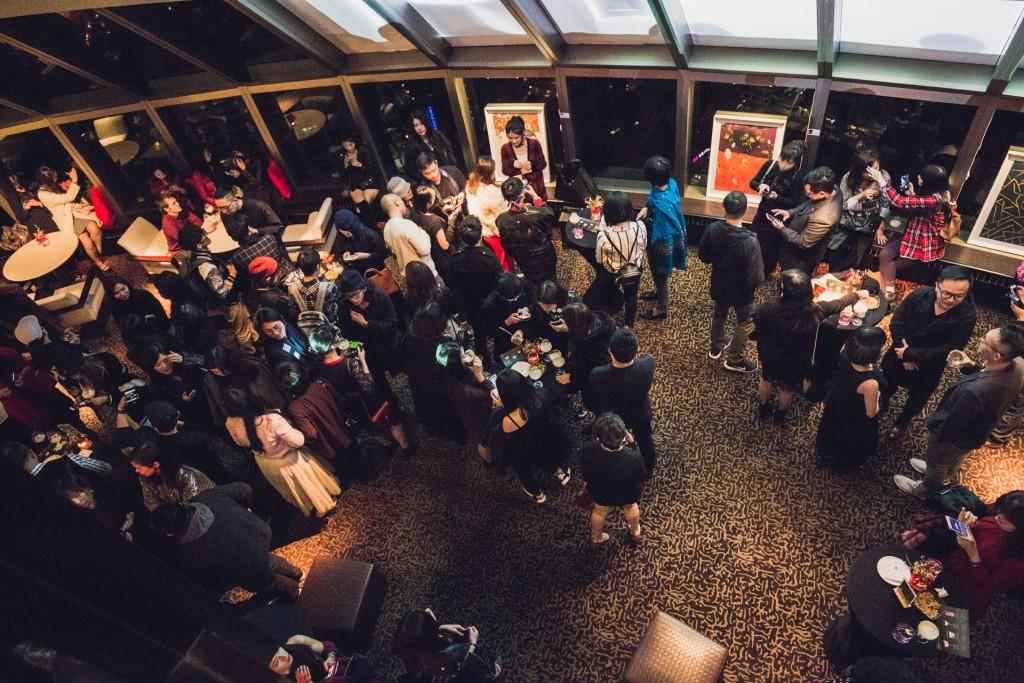 The Bridge Art串連藝術家交流派對。