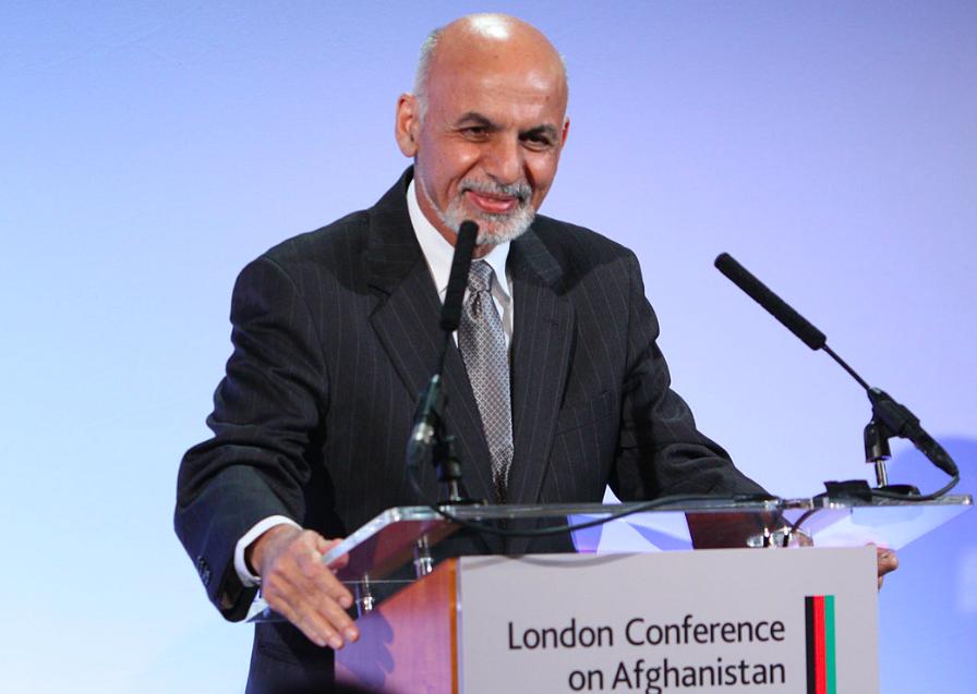 阿富汗總統大選結果出爐,由現任總統甘尼連任(圖/維基百科)