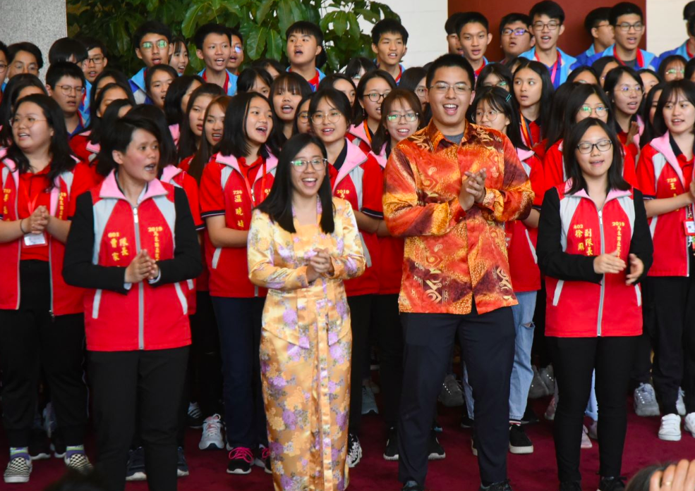 馬來西亞華裔青年台灣觀摩團(圖/國館提供)