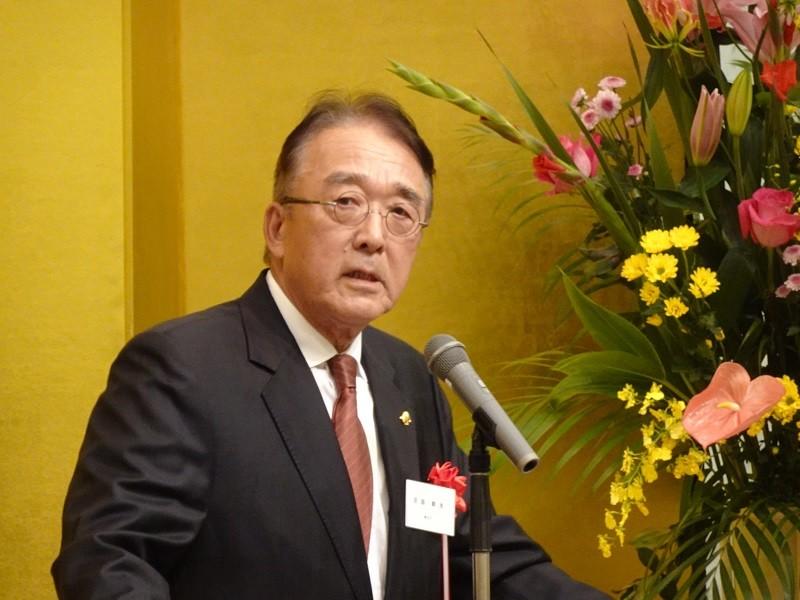 沼田幹夫(圖)駐台超過5年, 今年10月剛卸任 (中央社)