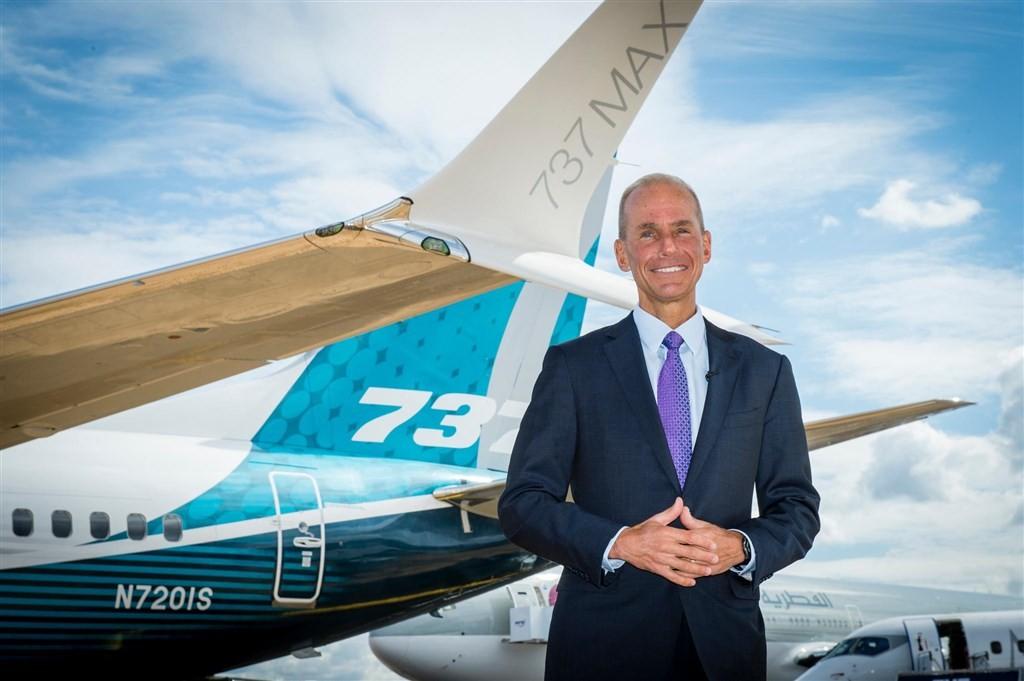 波音公司23日撤換執行長米倫伯格(圖),將由董事長凱爾洪接替。(圖取自twitter.com/Boeing)