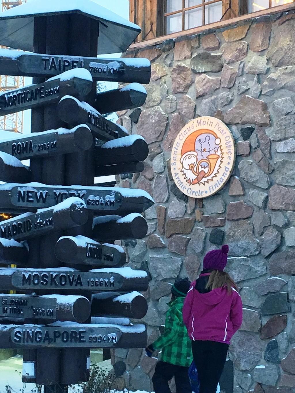 芬蘭羅凡尼米聖誕老人村浪漫驚喜 指標塔遙指台北