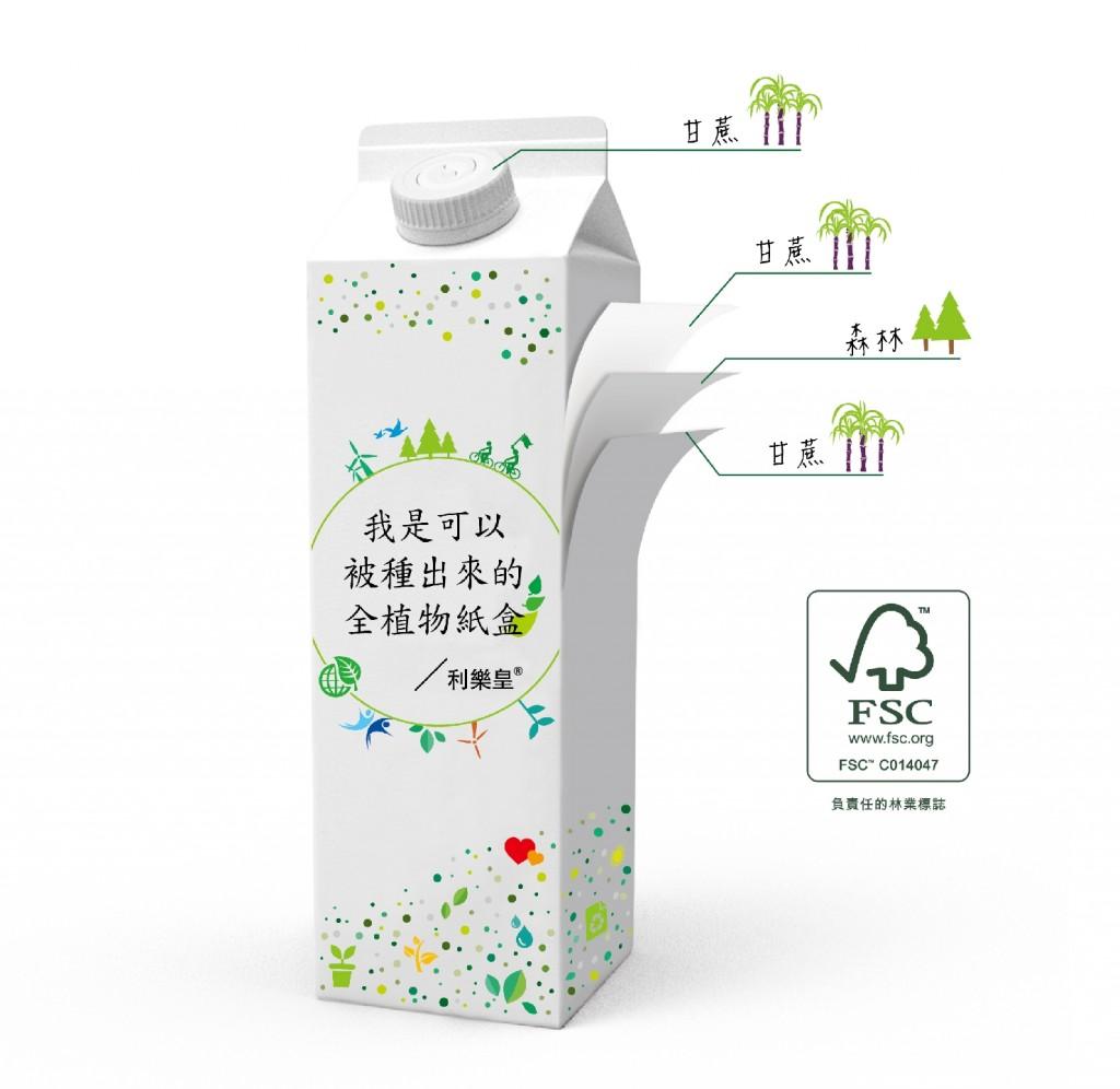 可以被種出來的全植物紙盒 利樂皇搶攻綠色商機