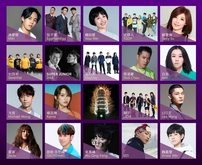 2020 Taipei New Year's Eve bash to feature 'transformer' stage