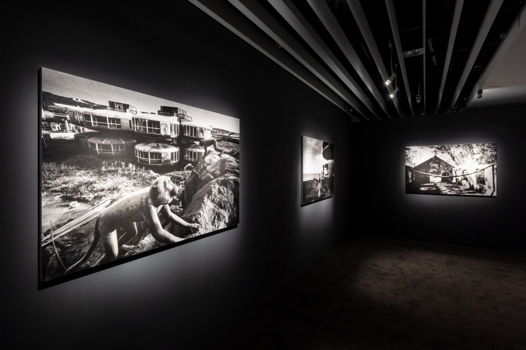 Photographs by Taiwanese artist Yao Jui-chung. (Jut Art Museum photo)