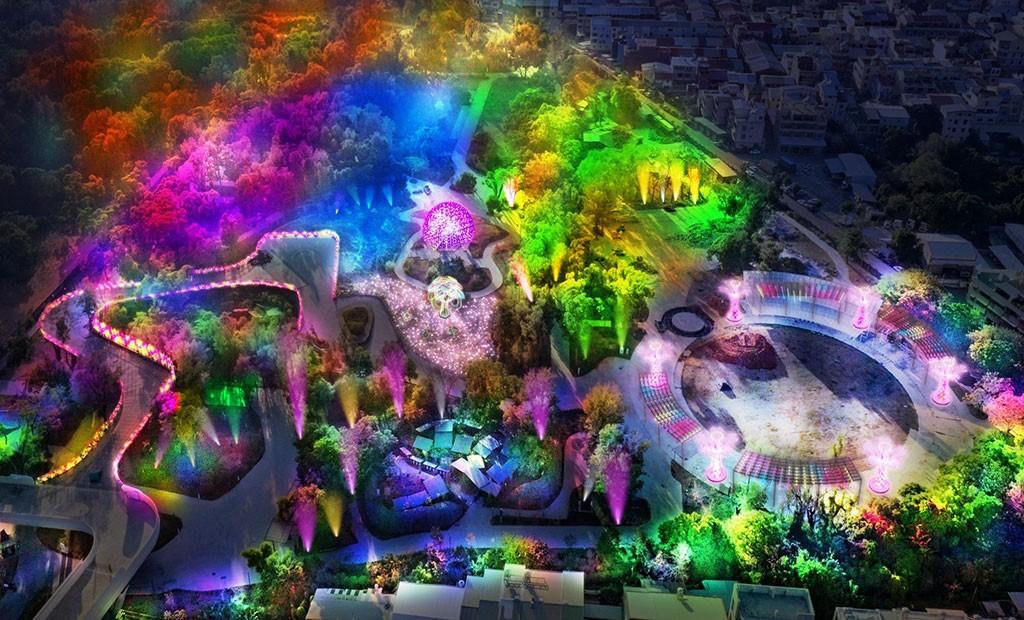 「2020台灣燈會」於2020年2月8日至23日在台中后里盛大開幕。(圖/交通部觀光局)