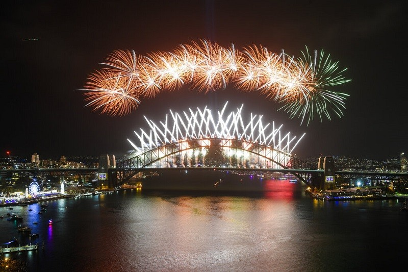 【更新】全球2020跨年煙火秀 紐西蘭、澳洲搶先登場