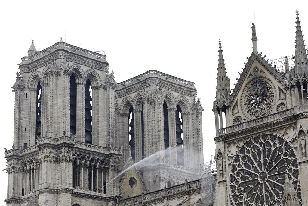 法國巴黎聖母院。(照片由美聯社提供)