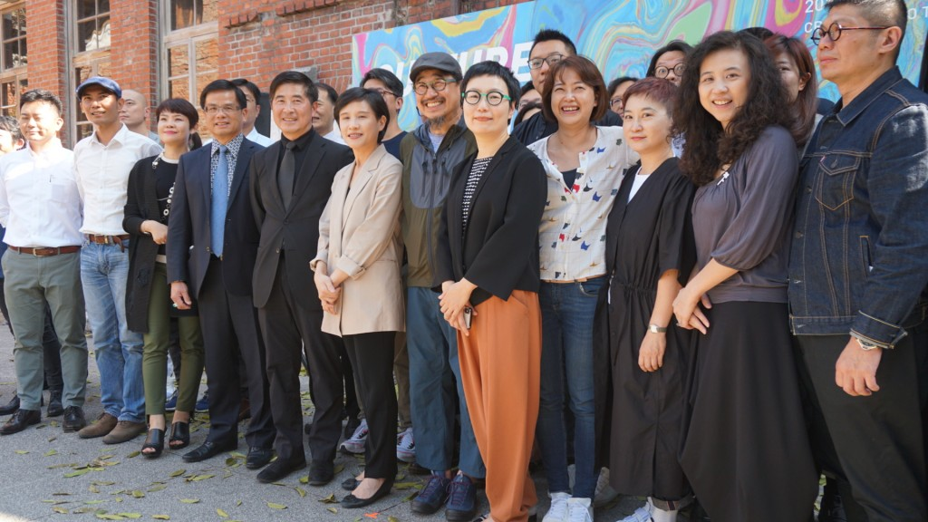 Culture Minister Cheng Li-Chen joined a team of curators to present the 2019 Creative Expo Taiwan on Wednesday.
