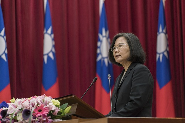 President Tsai. (Office of the President photo)