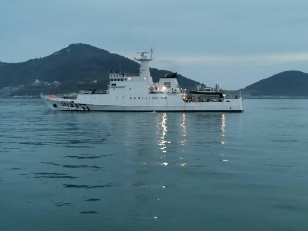 Penghu patrol ship. (Matsu Coast Guard photo)