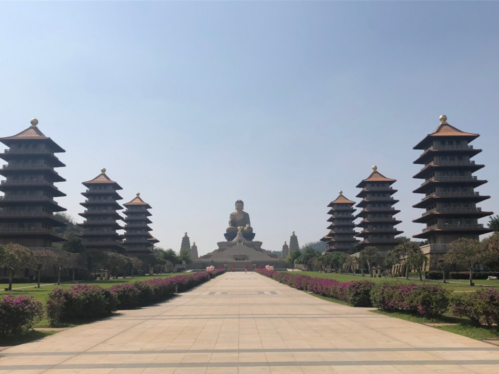 Inside Fo Guang Shan (Ryan Drillsma/Taiwan News)