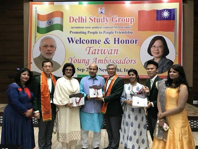 Taiwan Youth Ambassadors in New Delhi. (Photo by Namrata Hasija)