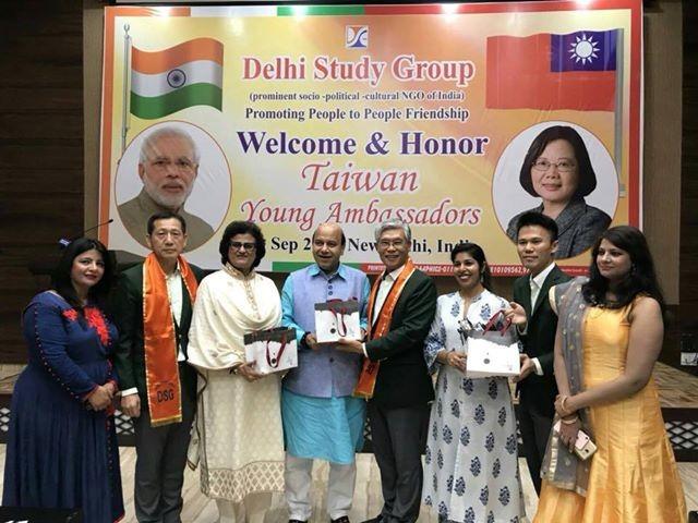 Taiwan Youth Ambassadors in New Delhi. (Photo by Namrata Hasija)