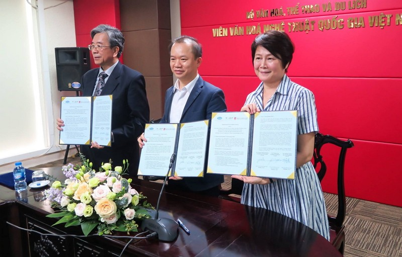 Taiwan and Vietnam ink MOU on cultural cooperation (Photo/TAEF)