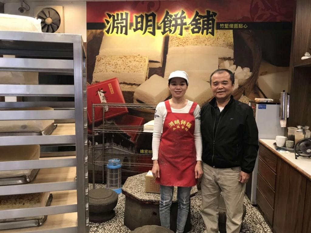 越南籍勞工胡氏莊(左)是產業類獲獎者(圖片來源:新竹市政府)
