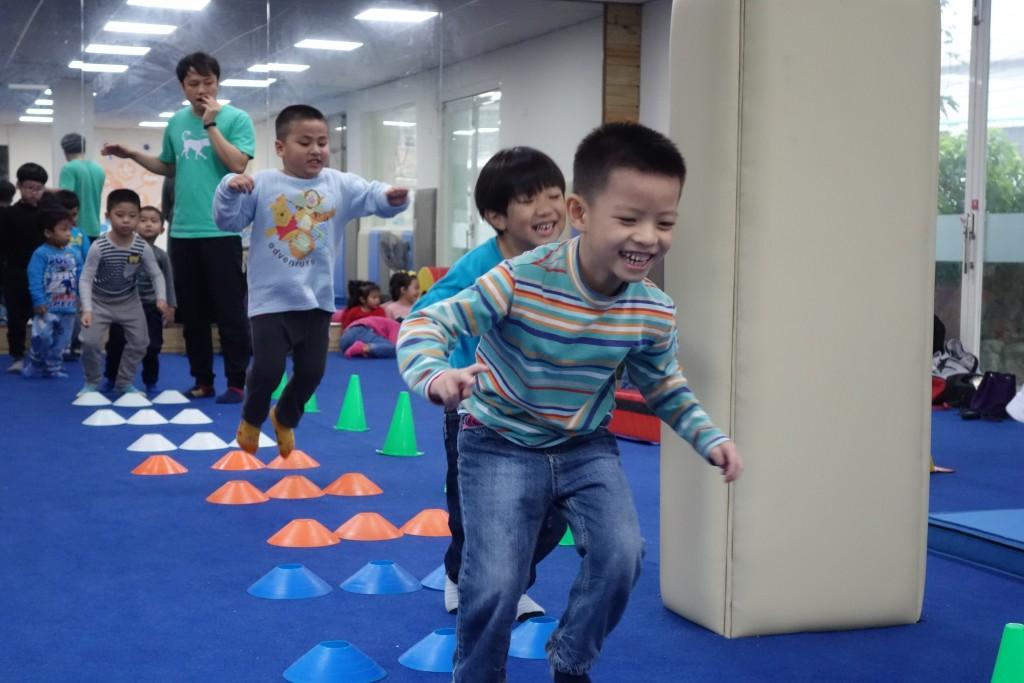 雙溪東榮公共親子中心-幼兒體能課程。(照片由新北市政府提供)