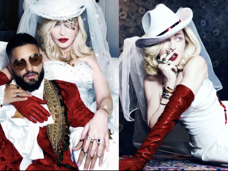 瑪丹娜新專輯將於6/14發行(圖/環球西洋)