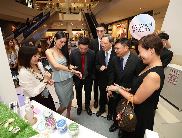 Taiwan Beauty pop-up, MyTown shopping center, Kuala Lumpur, MY
