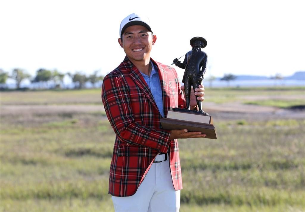 台灣高球好手潘政琮21日拿下生涯第一座PGA冠軍。(圖取自twitter.com/pgatour)