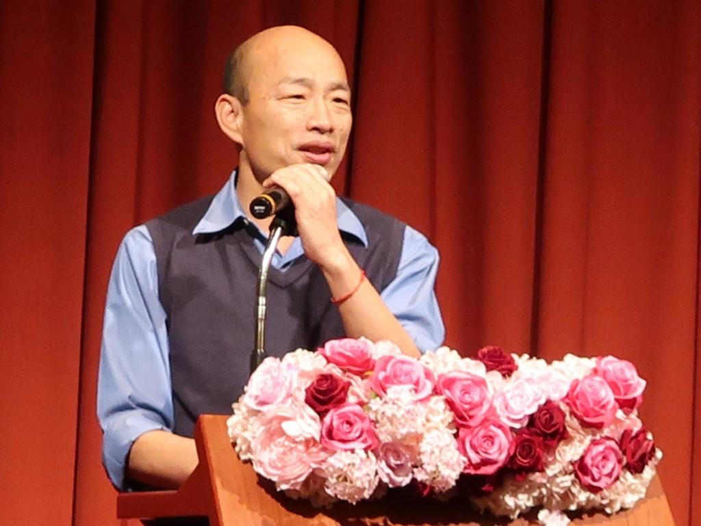 高雄市長韓國瑜(照片來源:資料照片/中央社提供)