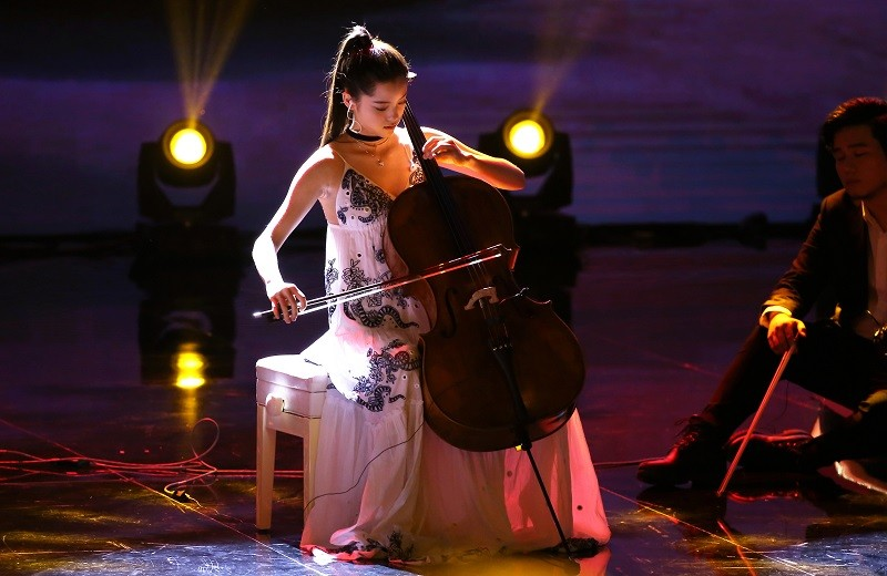 Taiwanese cellist and actress Ou-yang Nana (歐陽娜娜)