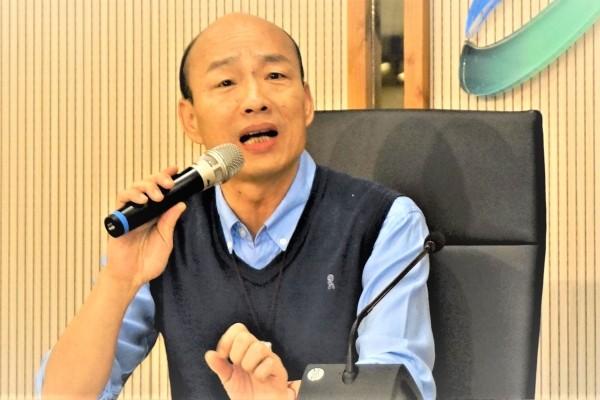 Han Kuo-yu.