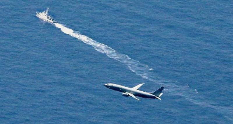 懼俄中搶先打撈竊密 美日加派研究船搜尋失事F-35
