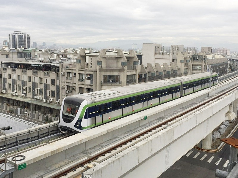 Taichung Metro Green Line (Taichung City Government photo)