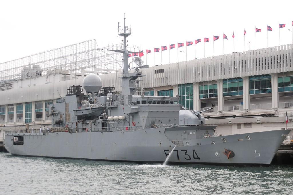 圖片為葡月號2011年停靠在香港的畫面。