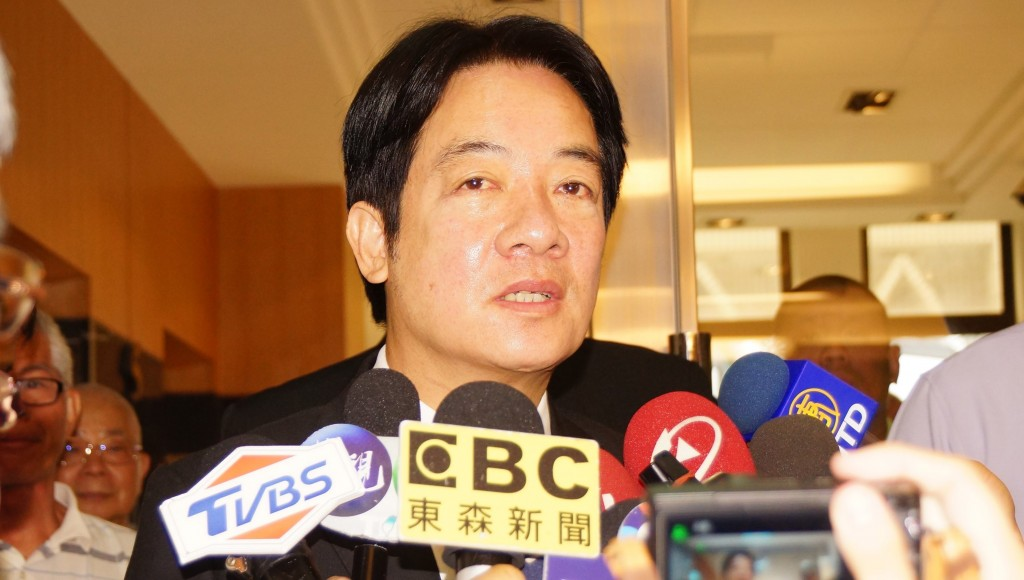 Ex-Premier Lai attended a seminar in Kaohsiung Saturday about 40 years of Taiwan Relations Act.