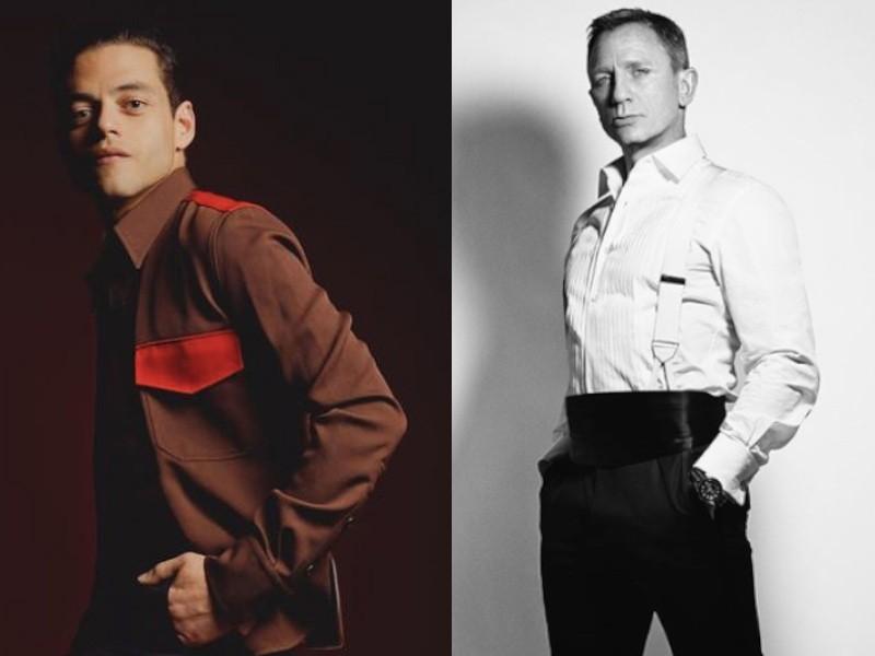 奧斯卡新科影帝(左)將出任大反派,丹尼爾克雷格(右)將最後一次演出007(圖/官方Instagram)
