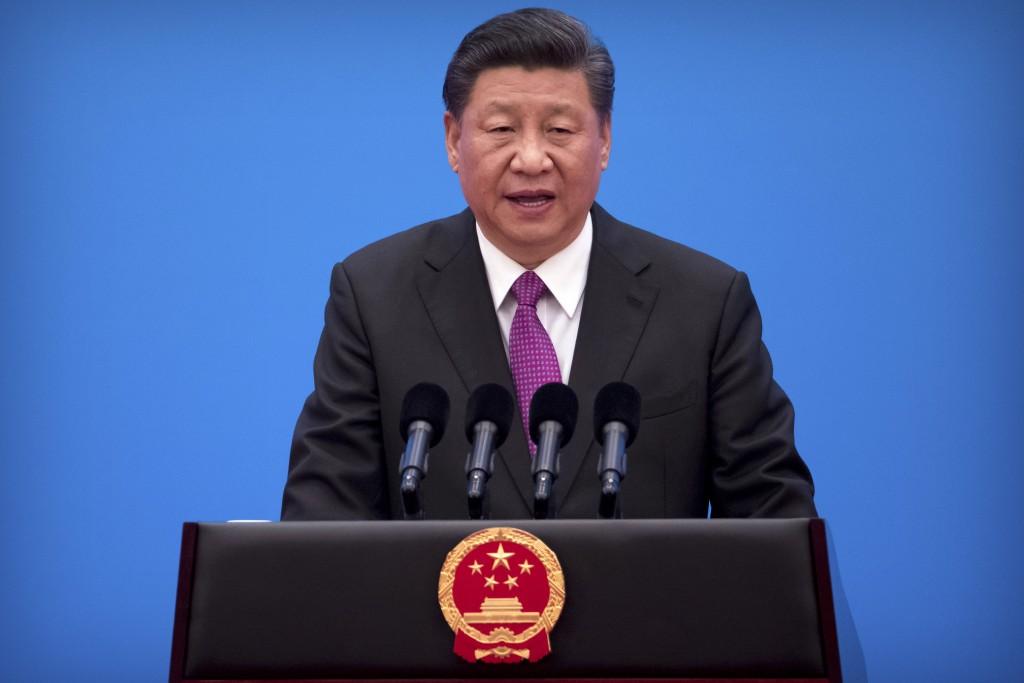 中國一帶一路網站今天撤下爭議地圖。(美聯社)