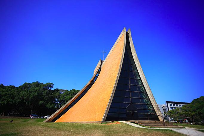 路思義教堂獲頒國定古蹟證書(圖/東海大學)