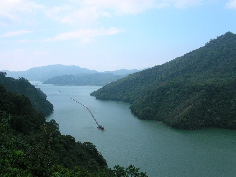 Shihmen Reservoir. (Wikipedia photo)