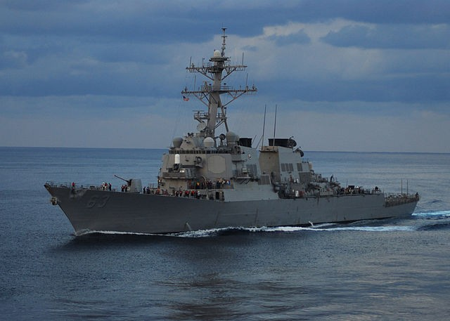 USS Stethem (DDG 63 in the East China Sea